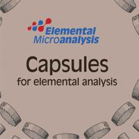 capsulas para análisis elemental